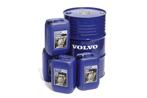 Volvo oil, lubricants and cooling liquids